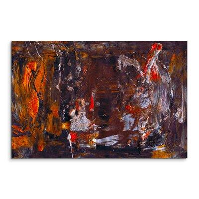 PaulSinusArt Enigma Abstrakt 879 Painting Print on Canvas