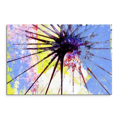 PaulSinusArt Enigma Abstrakt 1174 Painting Print on Canvas