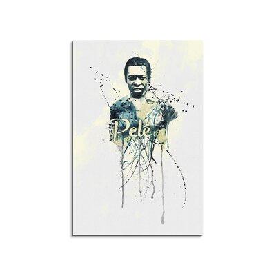 PaulSinusArt Enigma Pelé VI Painting Print on Canvas