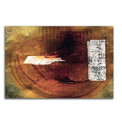 PaulSinusArt Enigma Abstrakt 057 Painting Print on Canvas