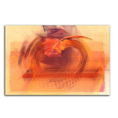 PaulSinusArt Enigma Abstrakt 059 Painting Print on Canvas