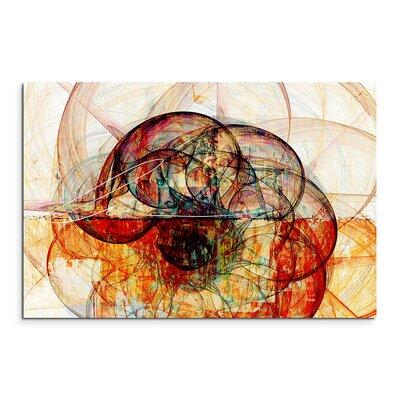 PaulSinusArt Enigma Abstrakt 1218 Painting Print on Canvas