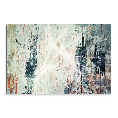 PaulSinusArt Enigma Abstrakt 1220 Painting Print on Canvas