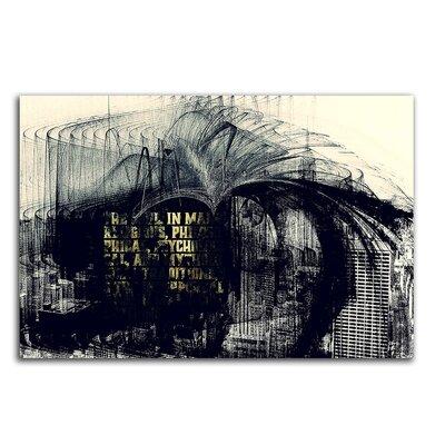 PaulSinusArt Enigma Abstrakt 066 Painting Print on Canvas