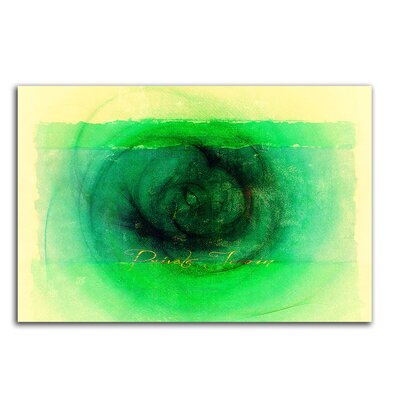 PaulSinusArt Enigma Abstrakt 072 Painting Print on Canvas