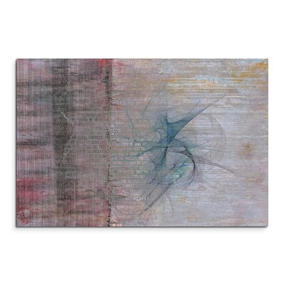 PaulSinusArt Enigma Abstrakt 1230 Painting Print on Canvas