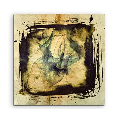 PaulSinusArt Enigma Abstrakt 1101 Painting Print on Canvas
