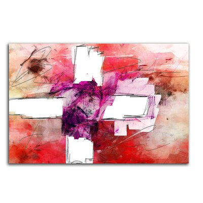 PaulSinusArt Enigma Abstrakt 267 Painting Print on Canvas