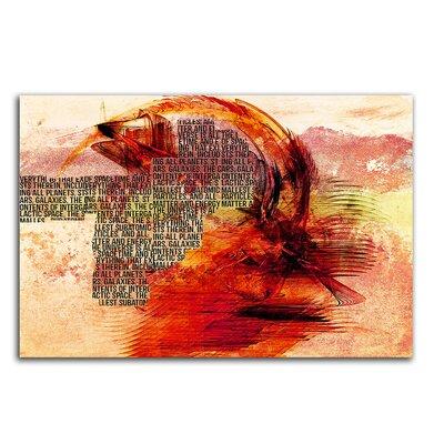 PaulSinusArt Enigma Abstrakt 281 Painting Print on Canvas