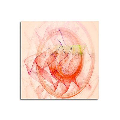 PaulSinusArt Enigma Abstrakt 360 Painting Print on Canvas
