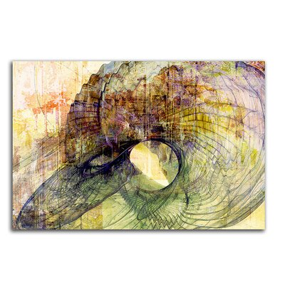 PaulSinusArt Enigma Abstrakt 459 Painting Print on Canvas