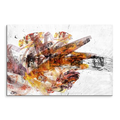 PaulSinusArt Enigma Abstrakt 1424 Painting Print on Canvas
