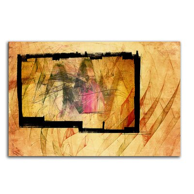 PaulSinusArt Enigma Abstrakt 471 Painting Print on Canvas