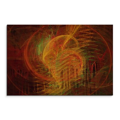 PaulSinusArt Enigma Abstrakt 1050 Painting Print on Canvas