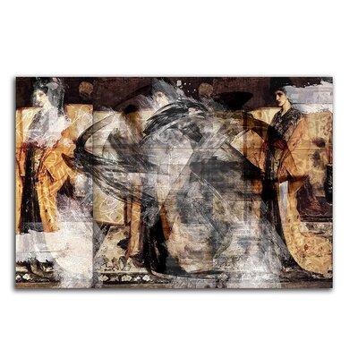 PaulSinusArt Enigma Abstrakt 475 Painting Print on Canvas
