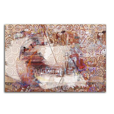 PaulSinusArt Enigma Abstrakt 477 Painting Print on Canvas
