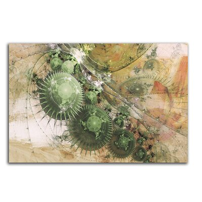 PaulSinusArt Enigma Abstrakt 479 Painting Print on Canvas