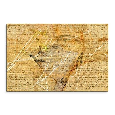 PaulSinusArt Enigma Abstrakt 1052 Painting Print on Canvas