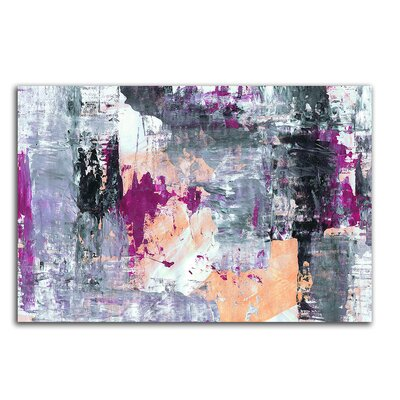 PaulSinusArt Enigma Abstrakt 006 Painting Print on Canvas