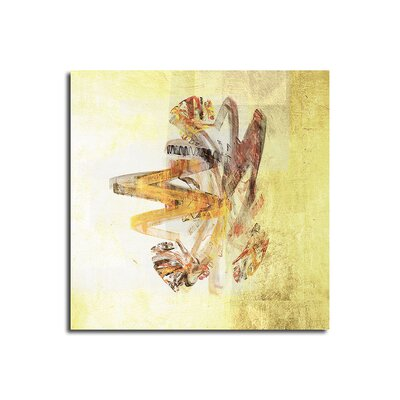 PaulSinusArt Enigma Abstrakt 092 Painting Print on Canvas