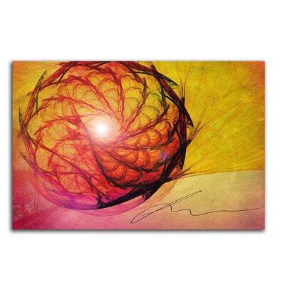 PaulSinusArt Enigma Abstrakt 016 Painting Print on Canvas