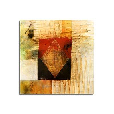 PaulSinusArt Enigma Abstrakt 093 Painting Print on Canvas