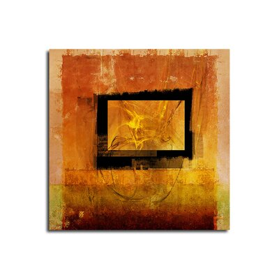 PaulSinusArt Enigma Abstrakt 094 Painting Print on Canvas