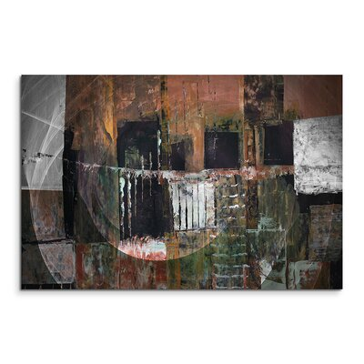 PaulSinusArt Enigma Abstrakt 1474 Painting Print on Canvas