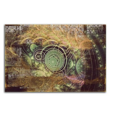 PaulSinusArt Enigma Abstrakt 482 Painting Print on Canvas