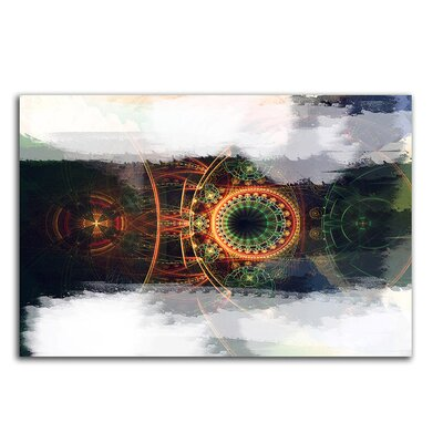 PaulSinusArt Enigma Abstrakt 484 Painting Print on Canvas