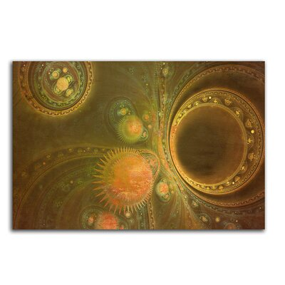 PaulSinusArt Enigma Abstrakt 485 Painting Print on Canvas