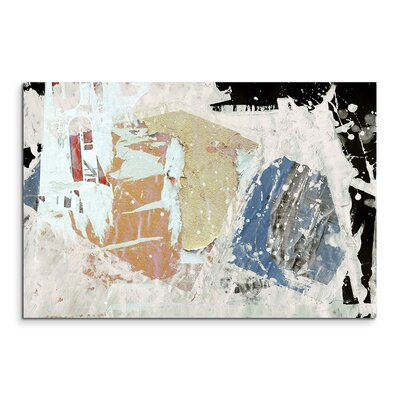 PaulSinusArt Enigma Abstrakt 636 Painting Print on Canvas