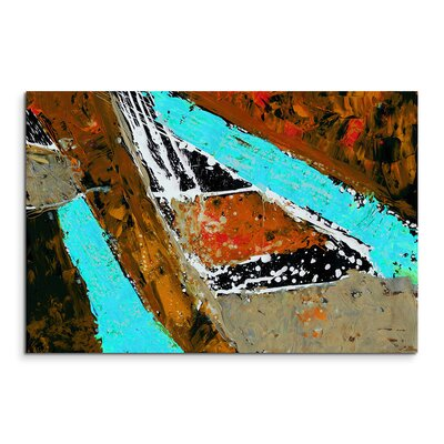 PaulSinusArt Enigma Abstrakt 637 Painting Print on Canvas