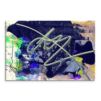 PaulSinusArt Enigma Abstrakt 833 Painting Print on Canvas