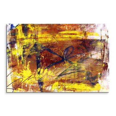 PaulSinusArt Enigma Abstrakt 834 Painting Print on Canvas