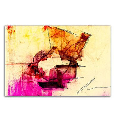 PaulSinusArt Enigma Abstrakt 235 Painting Print on Canvas