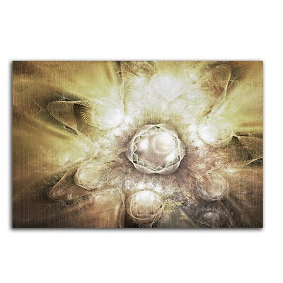 PaulSinusArt Enigma Abstrakt 411 Painting Print on Canvas