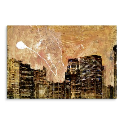PaulSinusArt Enigma Abstrakt 844 Painting Print on Canvas