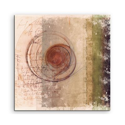 PaulSinusArt Enigma Abstrakt 1364 Painting Print on Canvas