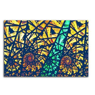 PaulSinusArt Enigma Abstrakt 422 Painting Print on Canvas