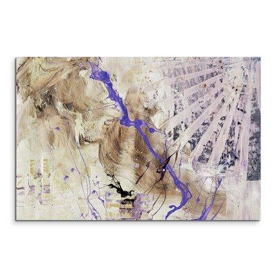 PaulSinusArt Enigma Abstrakt 848 Painting Print on Canvas