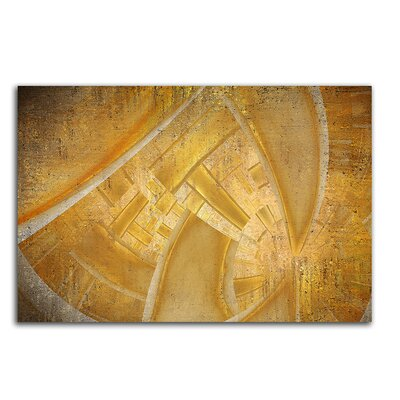 PaulSinusArt Enigma Abstrakt 424 Painting Print on Canvas