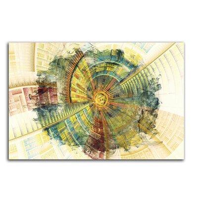 PaulSinusArt Enigma Abstrakt 428 Painting Print on Canvas