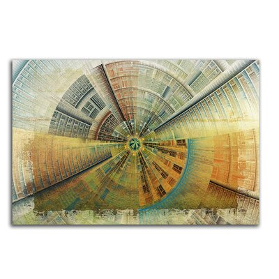 PaulSinusArt Enigma Abstrakt 429 Painting Print on Canvas