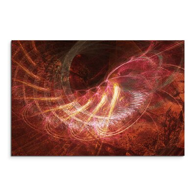 PaulSinusArt Enigma Abstrakt 1156 Painting Print on Canvas