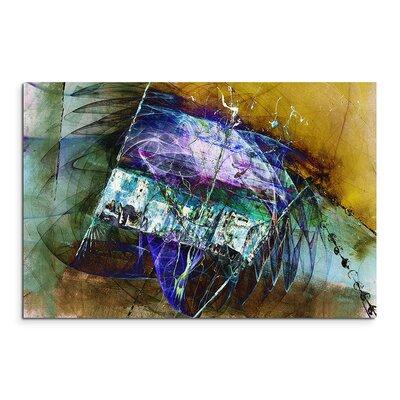 PaulSinusArt Enigma Abstrakt 1332 Painting Print on Canvas