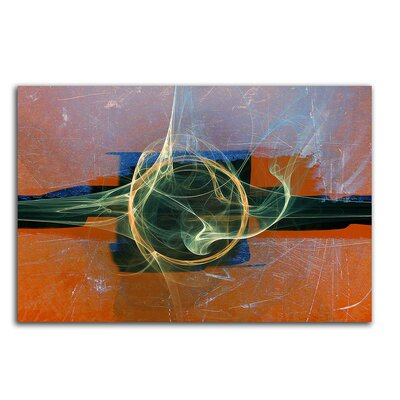 PaulSinusArt Enigma Abstrakt 030 Painting Print on Canvas