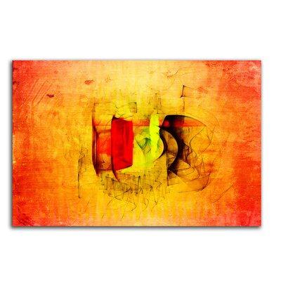 PaulSinusArt Enigma Abstrakt 034 Painting Print on Canvas