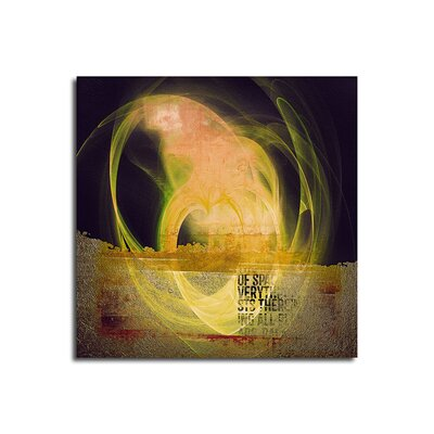 PaulSinusArt Enigma Abstrakt 134 Painting Print on Canvas