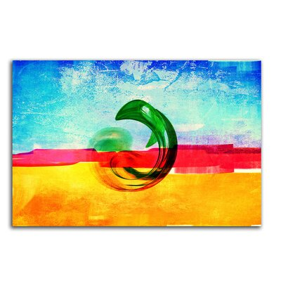 PaulSinusArt Enigma Abstrakt 036 Painting Print on Canvas